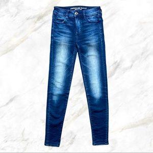 AEO | Super Stretch High Rise Jegging Jeans